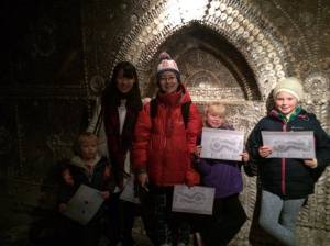 japanese-student-hikaru-and-emika-with-aoife-orla-and-seamus-at-shell-grotto